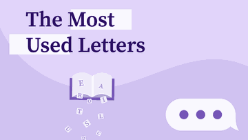 The Most Used Letters in English
