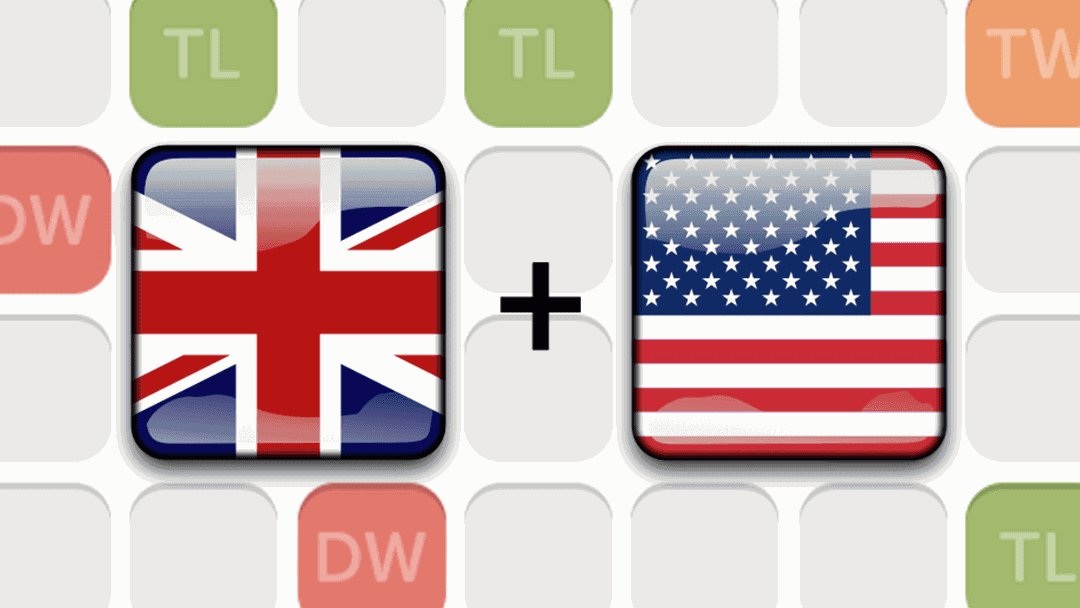 Different British and American Spellings to Dominate Word Games